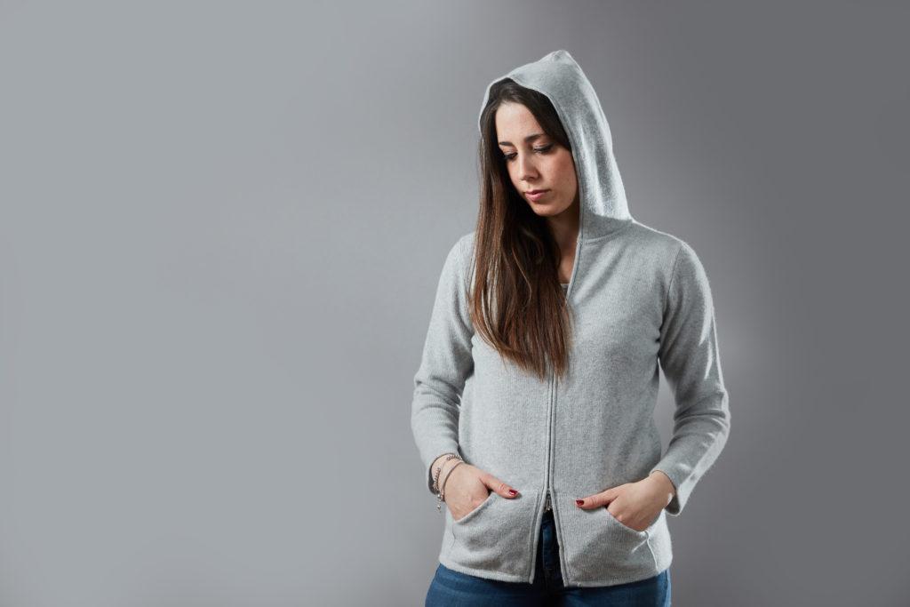 Fotografo Moda Biella cachemire maglia ritratto abbigliamento alta qualità