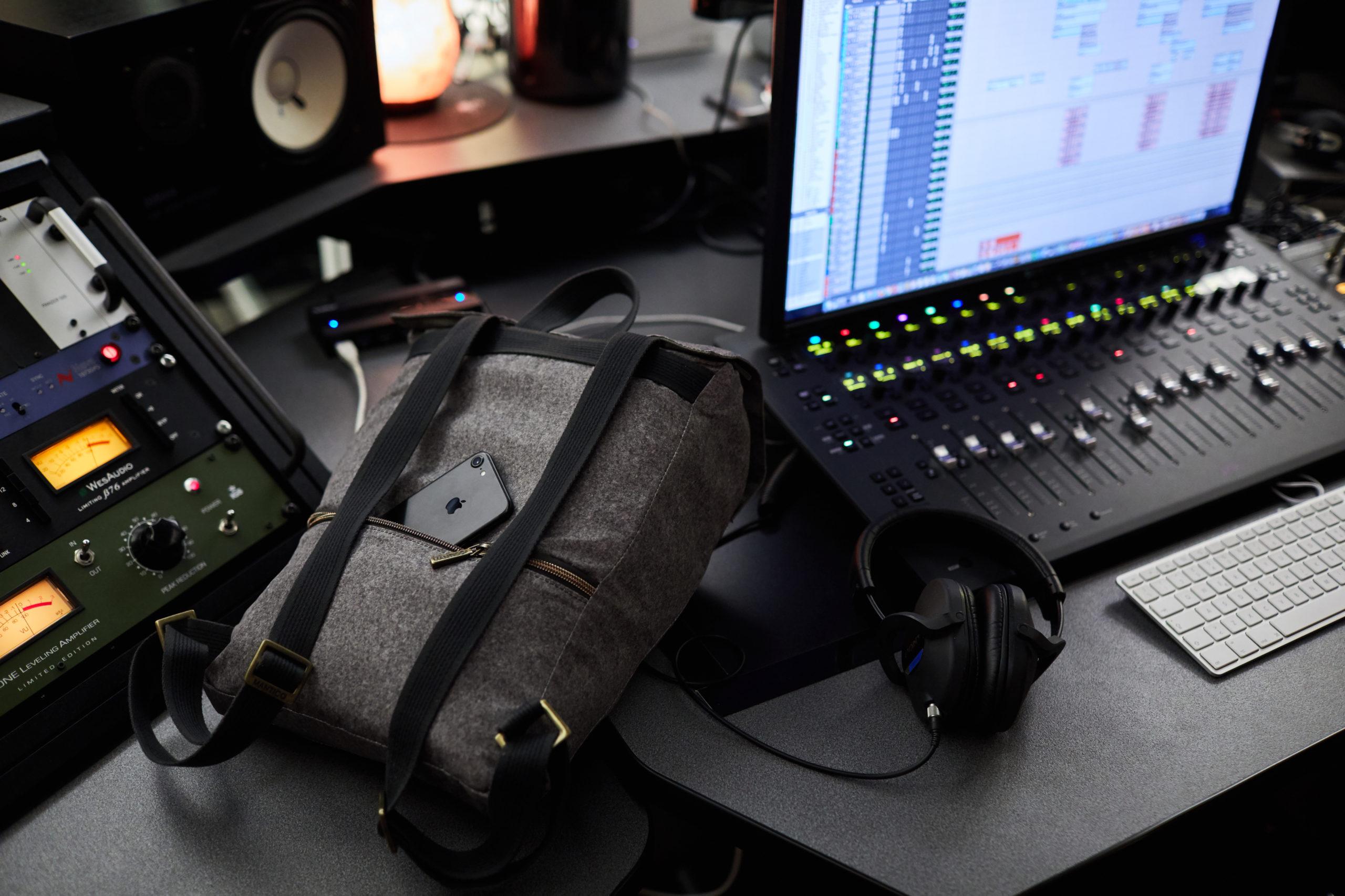 Videomaker prodotto BBag Mantico Milano Biella Zin zaino video emozionale musica studio registrazione Fonjca Cossato