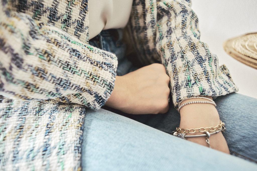 Fotografo Abbigliamento Dettagli Aramù moda giacca Biella Zin