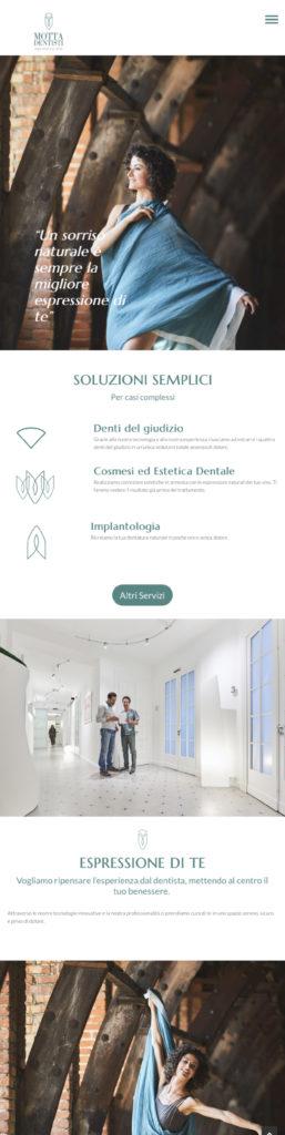 Studio Motta Dentisti Realizzazione sito